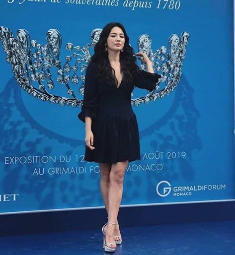 Song Hye Kyo gợi cảm với nhan sắc đỉnh cao ở Monaco - ảnh 9
