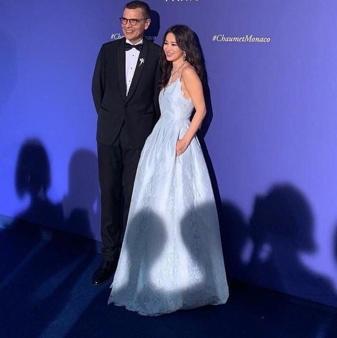 Song Hye Kyo gợi cảm với nhan sắc đỉnh cao ở Monaco - ảnh 2