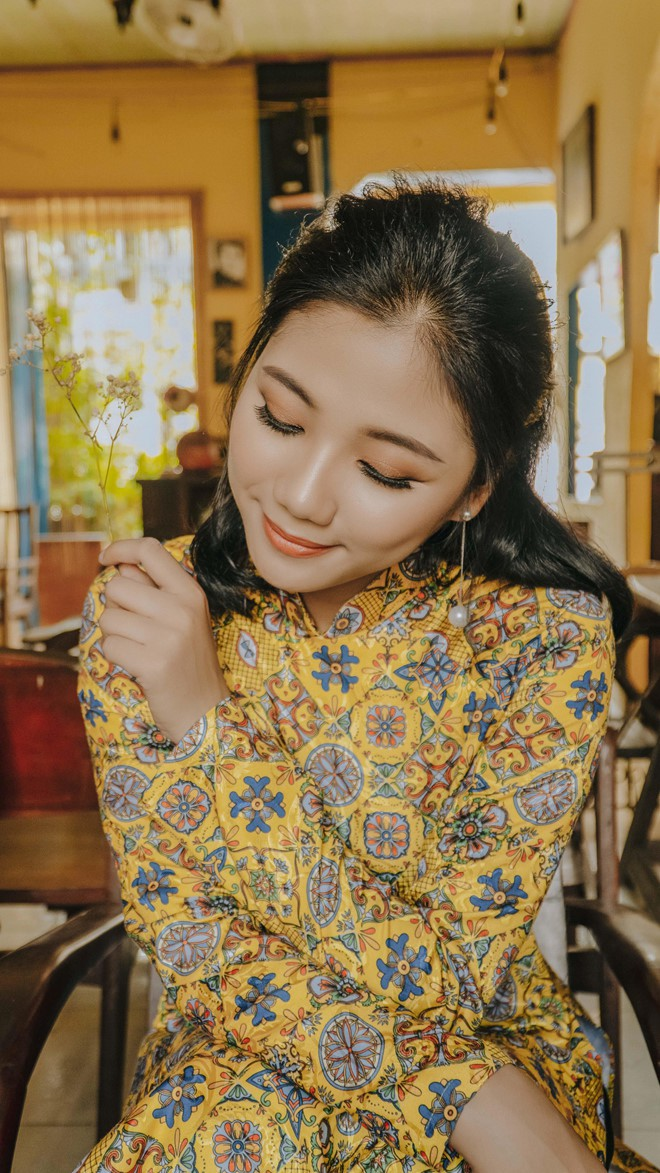 Nữ đặc công khoe ảnh 'cô Ba Sài Gòn' được dân mạng khen đẹp dịu dàng - ảnh 3