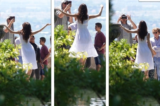 Leonardo Di Caprio hẹn hò lãng mạn cùng bạn gái kém 22 tuổi ở Ý - ảnh 10