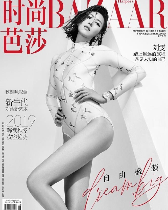 Dáng vóc hoàn hảo của mỹ nhân nội y gốc Hoa Liu Wen - ảnh 1