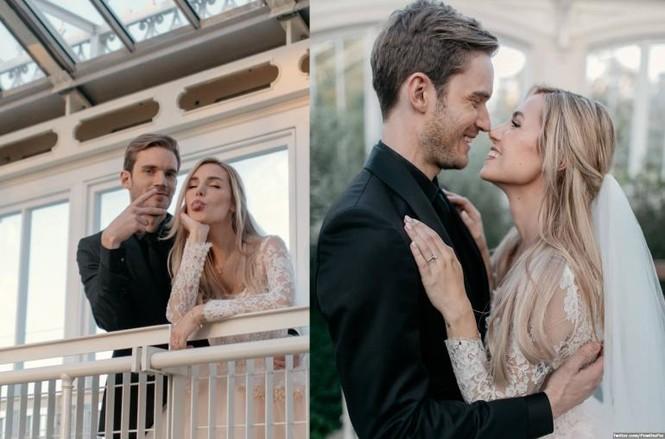 'Ông hoàng Youtube' PewDiePie bất ngờ làm đám cưới - ảnh 1