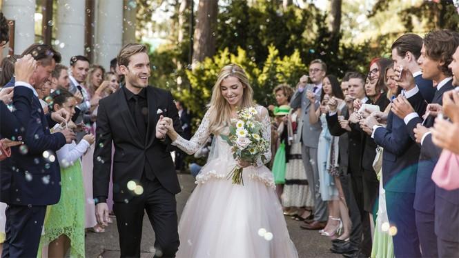'Ông hoàng Youtube' PewDiePie bất ngờ làm đám cưới - ảnh 2