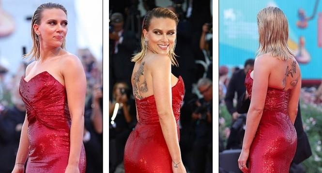 Cô đào gợi tình Scarlett Johansson khoe đường cong tròn đầy - ảnh 3