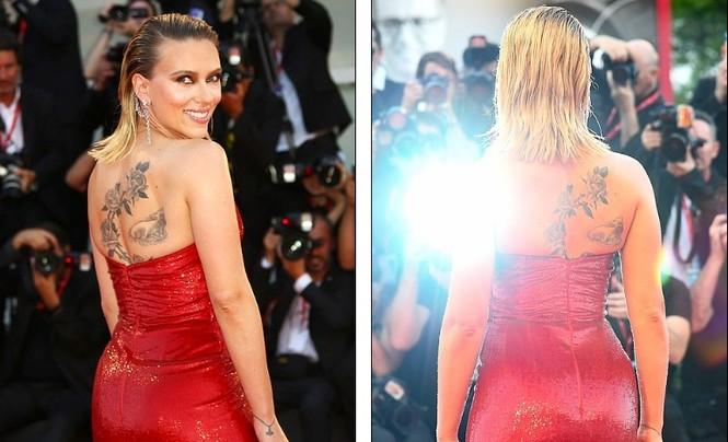 Cô đào gợi tình Scarlett Johansson khoe đường cong tròn đầy - ảnh 4