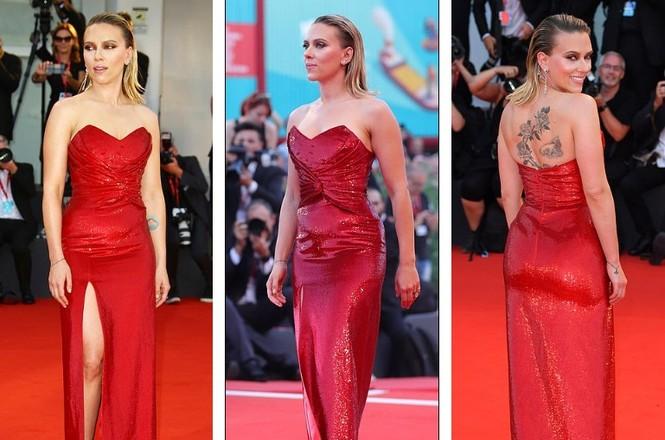 Cô đào gợi tình Scarlett Johansson khoe đường cong tròn đầy - ảnh 5