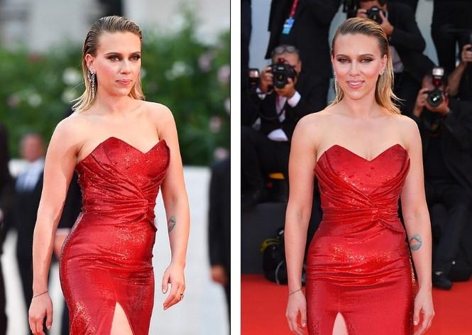Cô đào gợi tình Scarlett Johansson khoe đường cong tròn đầy - ảnh 2