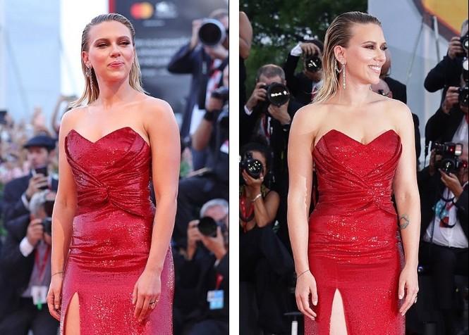 Cô đào gợi tình Scarlett Johansson khoe đường cong tròn đầy - ảnh 1