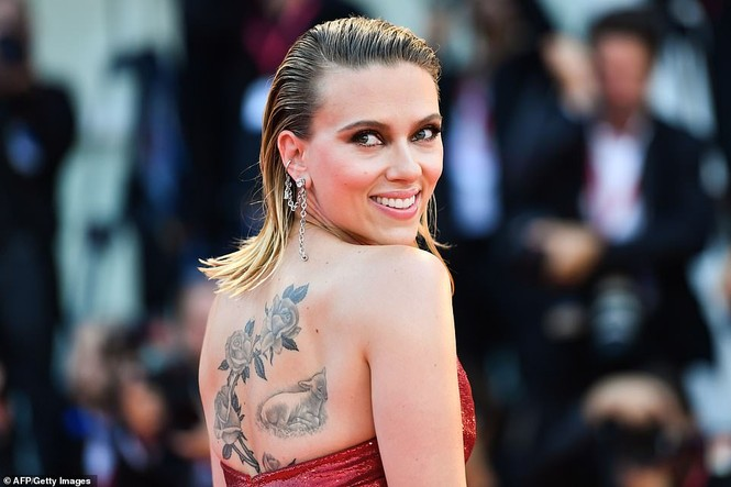 Cô đào gợi tình Scarlett Johansson khoe đường cong tròn đầy - ảnh 6