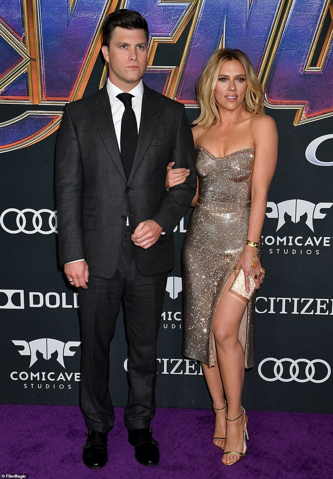 Cô đào gợi tình Scarlett Johansson khoe đường cong tròn đầy - ảnh 12