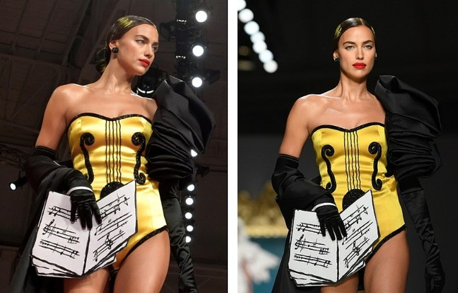 Siêu mẫu Nga Irina Shayk quyến rũ xuất thần trên sàn diễn Moschino - ảnh 4