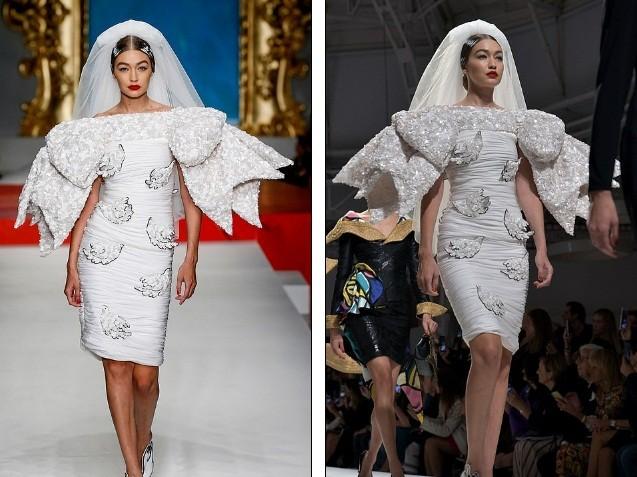 Siêu mẫu Nga Irina Shayk quyến rũ xuất thần trên sàn diễn Moschino - ảnh 15