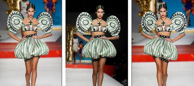 Siêu mẫu Nga Irina Shayk quyến rũ xuất thần trên sàn diễn Moschino - ảnh 10