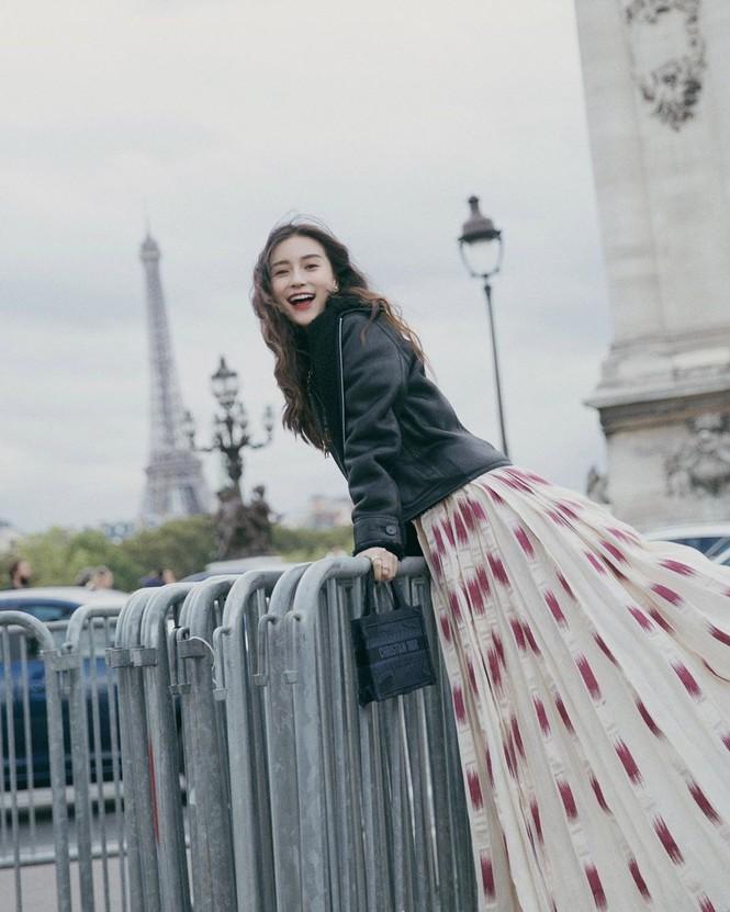 Angelababy xinh như công chúa giữa trời Paris - ảnh 3
