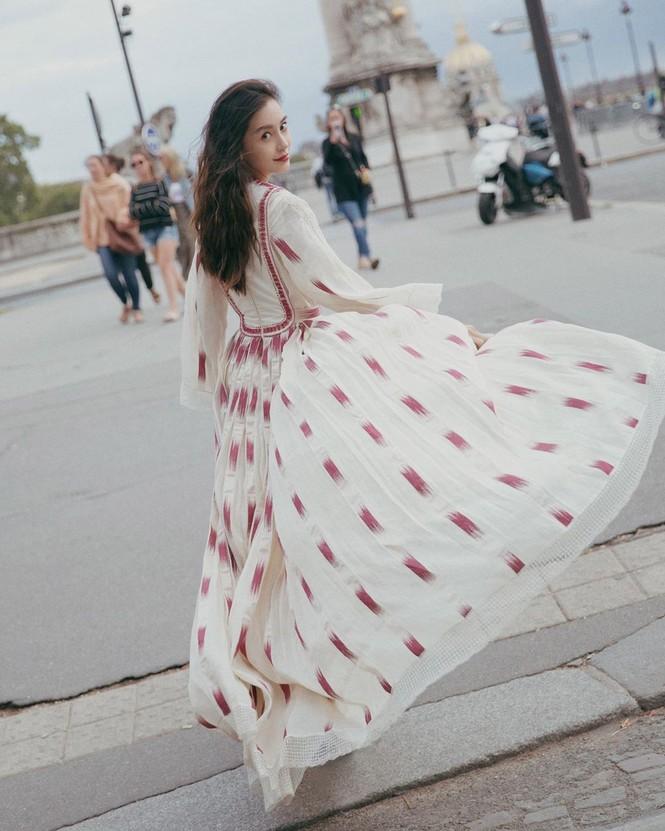Angelababy xinh như công chúa giữa trời Paris - ảnh 6