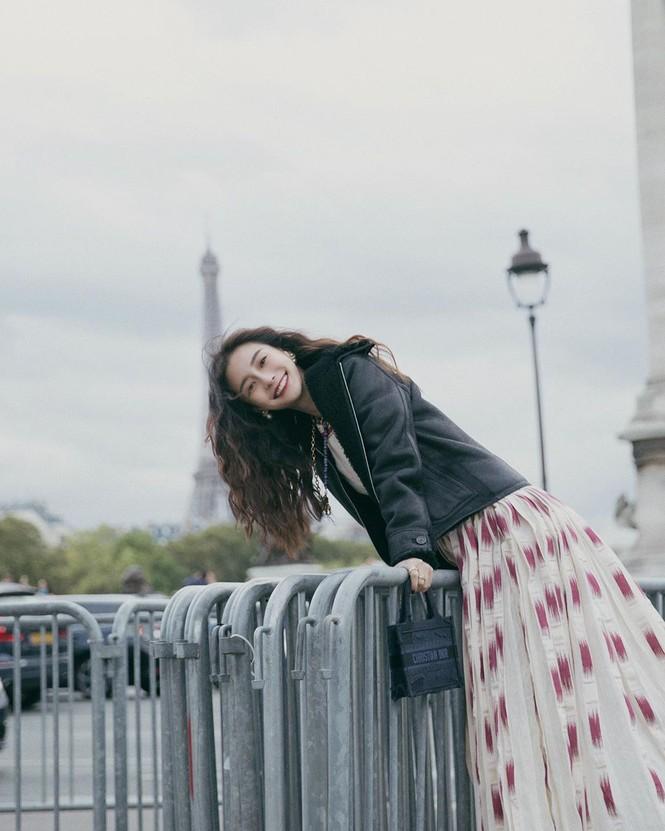 Angelababy xinh như công chúa giữa trời Paris - ảnh 4