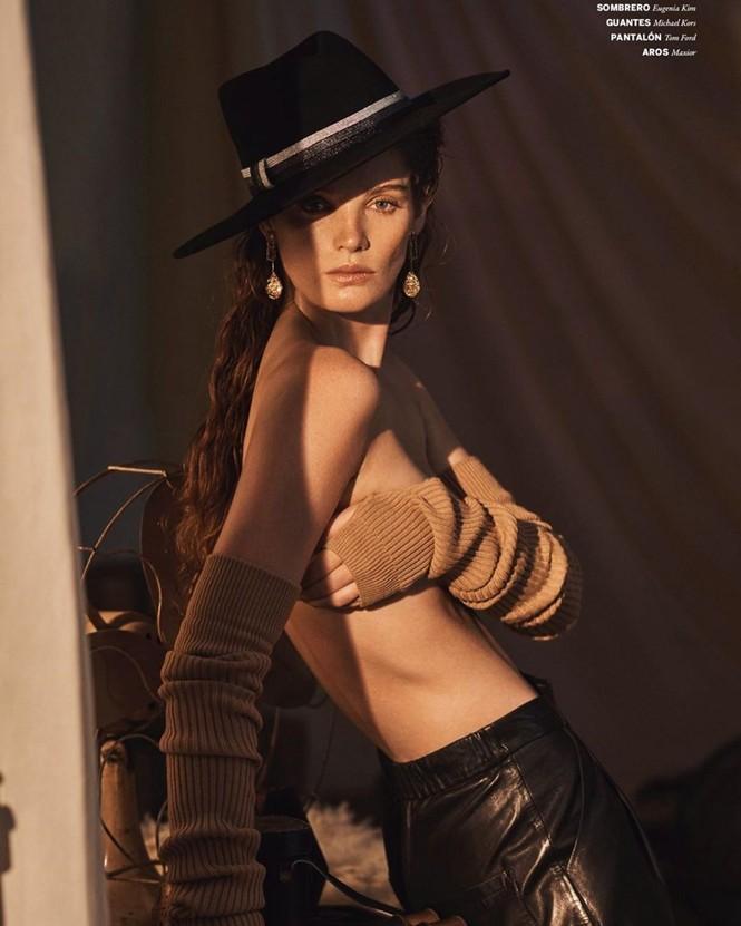 Alexina Graham là nàng mẫu mới gia nhập dàn thiên thần nội y của Victoria's Secret. - ảnh 7