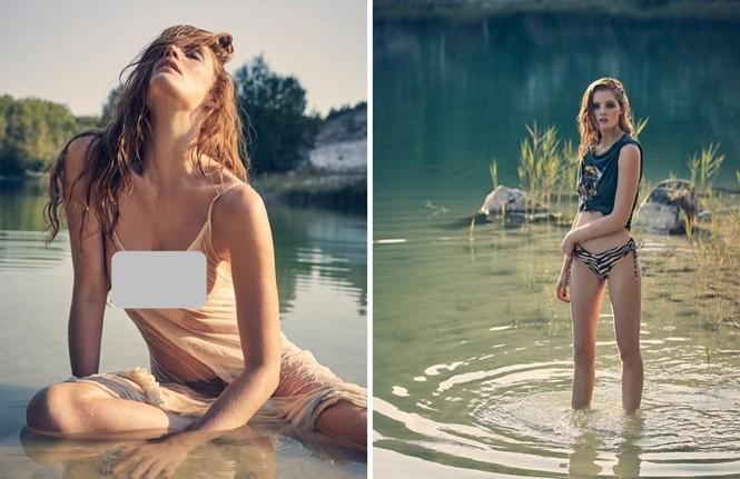 Alexina Graham là nàng mẫu mới gia nhập dàn thiên thần nội y của Victoria's Secret. - ảnh 12