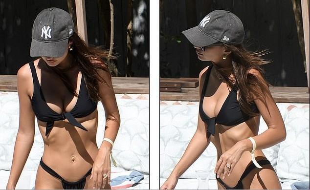 Emily Ratajkowski diện bikini gợi tình ở Miami - ảnh 5