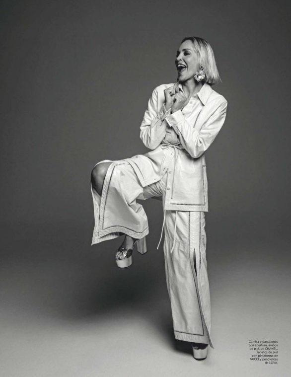 Minh tinh 'Bản năng gốc' Sharon Stone diện nội y táo bạo ở tuổi 61 - ảnh 9