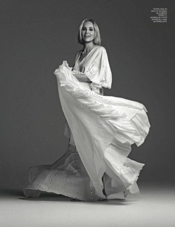 Minh tinh 'Bản năng gốc' Sharon Stone diện nội y táo bạo ở tuổi 61 - ảnh 10