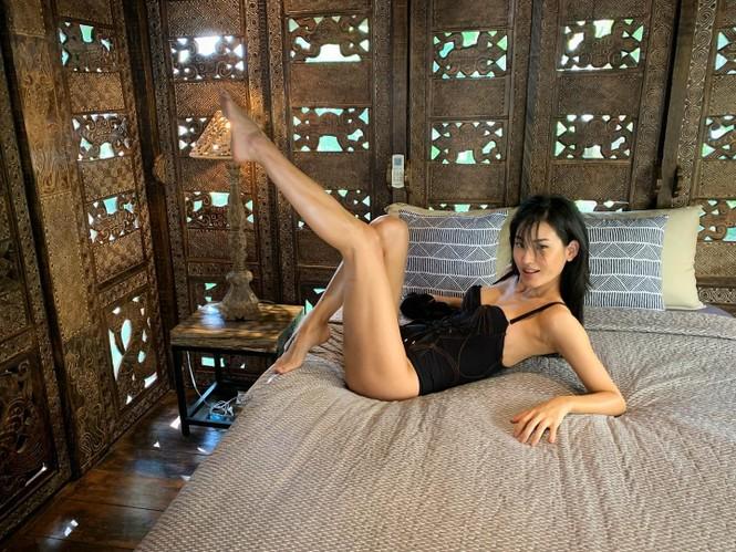 Người đẹp Hàn Quốc trở thành 'tân binh' tạp chí áo tắm Sports Illustrated - ảnh 5