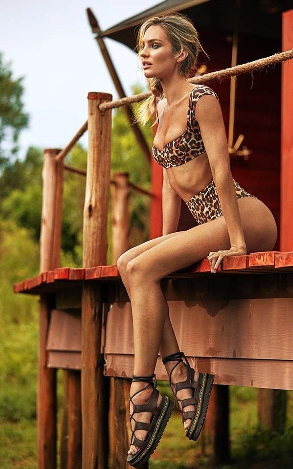 Ngất ngây đường cong tuyệt mỹ của thiên thần nội y Candice Swanepoel - ảnh 3