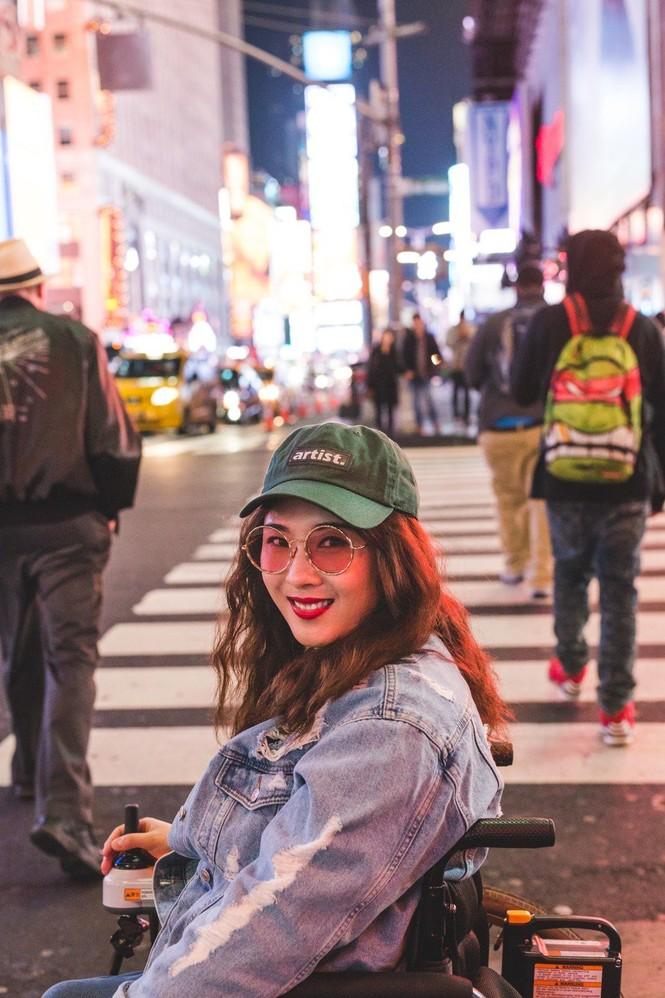 Cô gái Hàn Quốc liệt hai chân chu du thế giới - ảnh 2