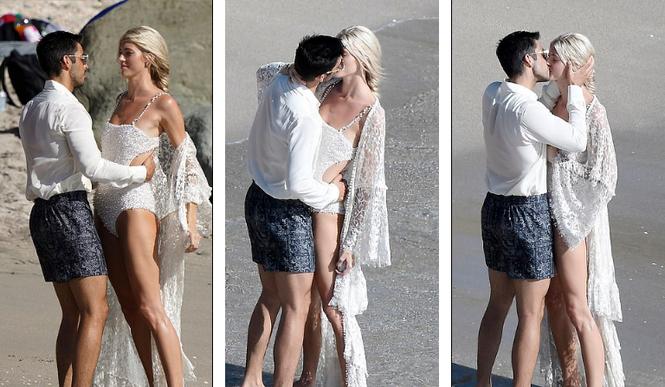 Thiên thần nội y mặc áo tắm nồng nàn bên hôn phu trước ngày cưới - ảnh 4