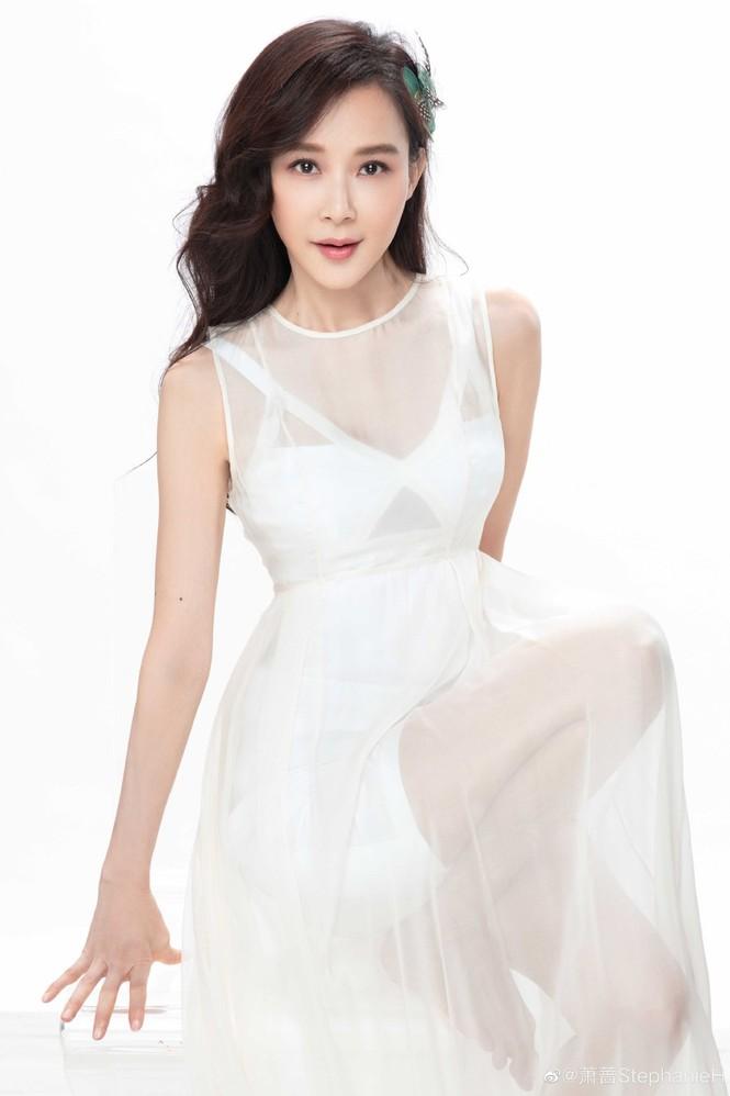 Ngỡ ngàng sắc vóc trẻ trung của người đẹp Đài Loan Tiêu Tường - ảnh 2