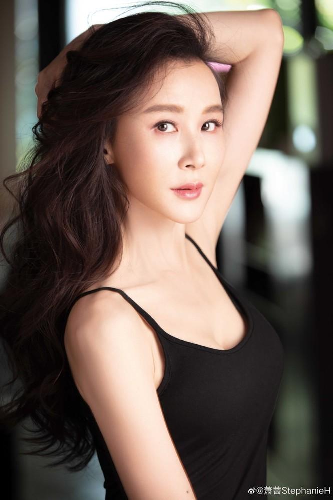 Ngỡ ngàng sắc vóc trẻ trung của người đẹp Đài Loan Tiêu Tường - ảnh 4