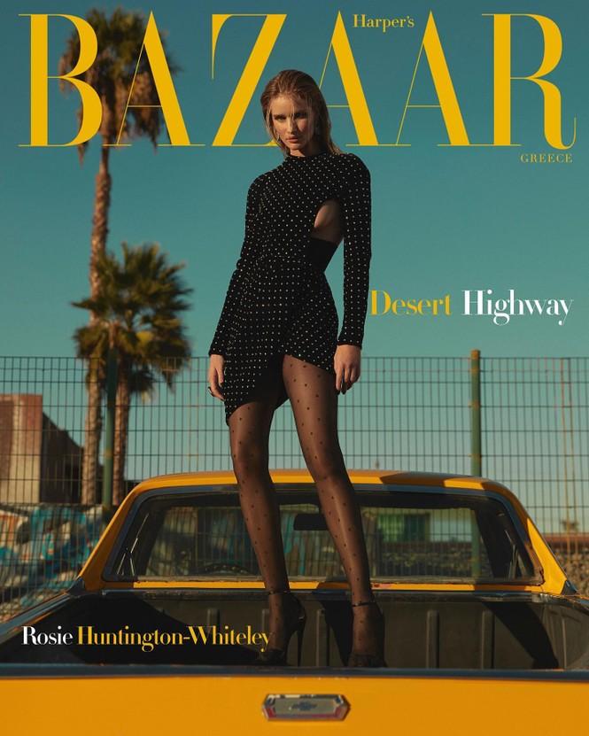 Bạn gái 'Người vận chuyển' cực chất trên Bazaar Hy Lạp - ảnh 1