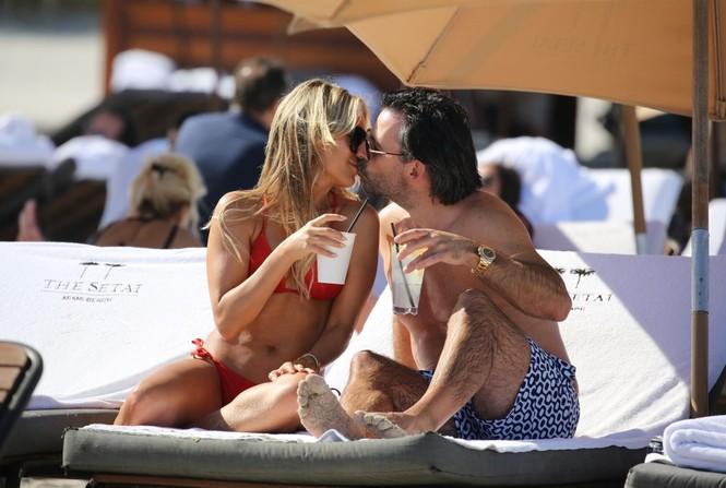 Sylvie Meis thả dáng nóng bỏng bên bạn trai ở Miami - ảnh 4