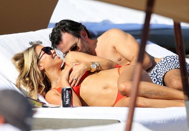 Sylvie Meis thả dáng nóng bỏng bên bạn trai ở Miami - ảnh 5