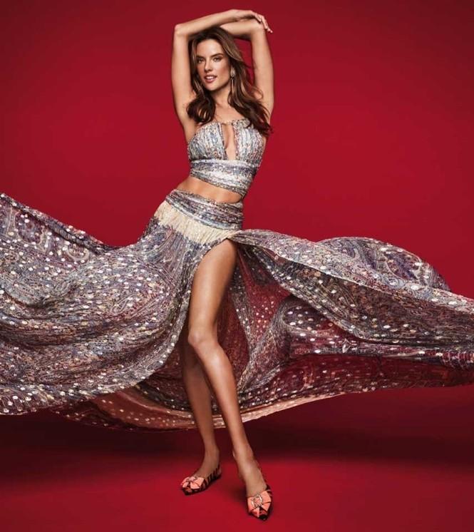 Ngất ngây ngắm đôi chân dài trứ danh của siêu mẫu Alessandra Ambrosio  - ảnh 10