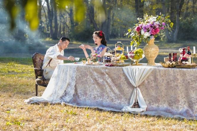 Siêu mẫu xứ Đài Lâm Chí Linh say đắm bên chồng trẻ sau kết hôn - ảnh 5