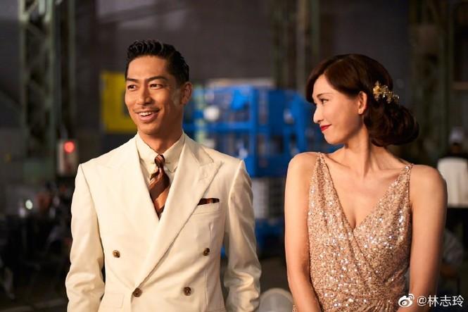 Siêu mẫu xứ Đài Lâm Chí Linh say đắm bên chồng trẻ sau kết hôn - ảnh 2