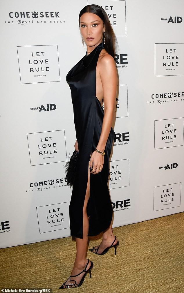 Mê đắm thân hình gợi cảm như tượng tạc của Bella Hadid  - ảnh 6