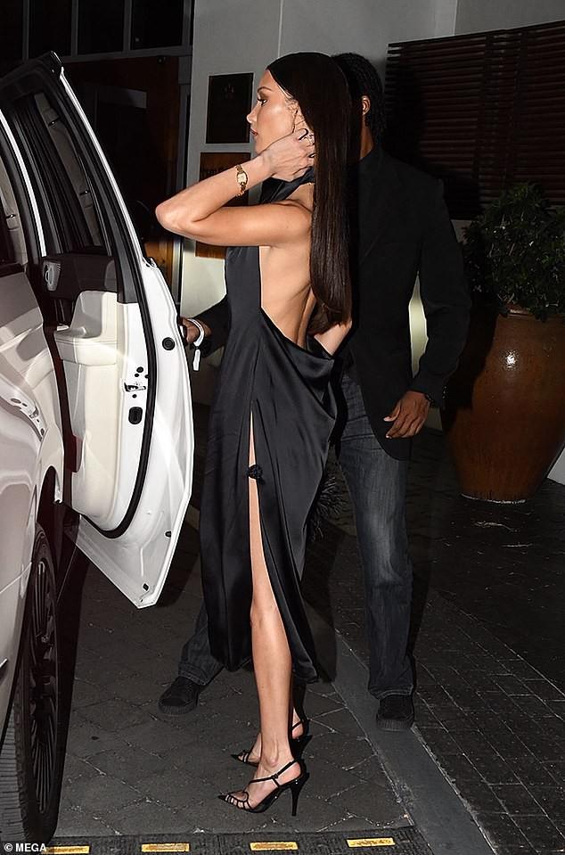 Mê đắm thân hình gợi cảm như tượng tạc của Bella Hadid  - ảnh 7