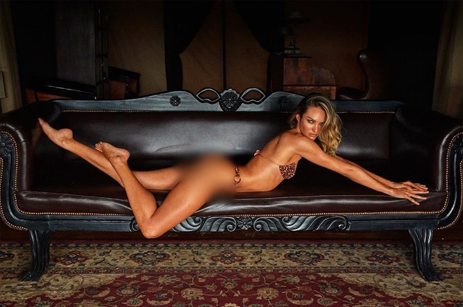Mê đắm thân hình tuyệt mỹ của nữ thần Nam Phi Candice Swanepoel - ảnh 1
