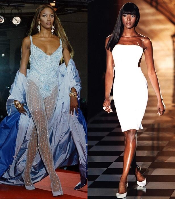 Mê mẩn sắc vóc tuyệt mỹ của siêu mẫu huyền thoại Naomi Campbell  - ảnh 2