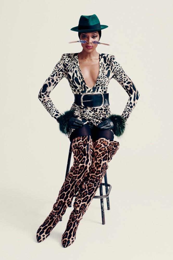 Mê mẩn sắc vóc tuyệt mỹ của siêu mẫu huyền thoại Naomi Campbell  - ảnh 8