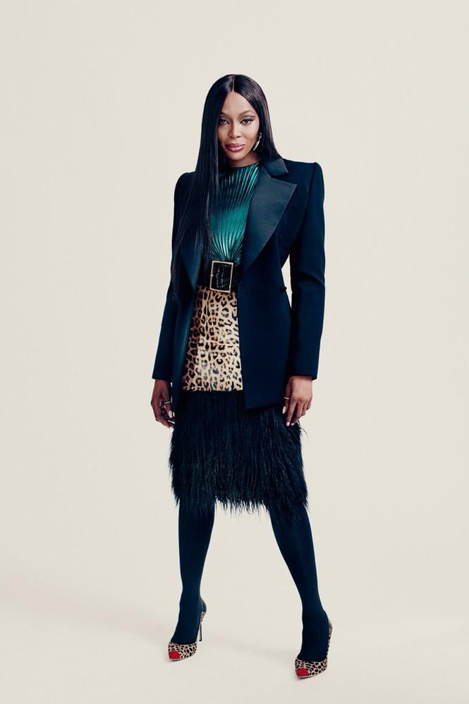 Mê mẩn sắc vóc tuyệt mỹ của siêu mẫu huyền thoại Naomi Campbell  - ảnh 10