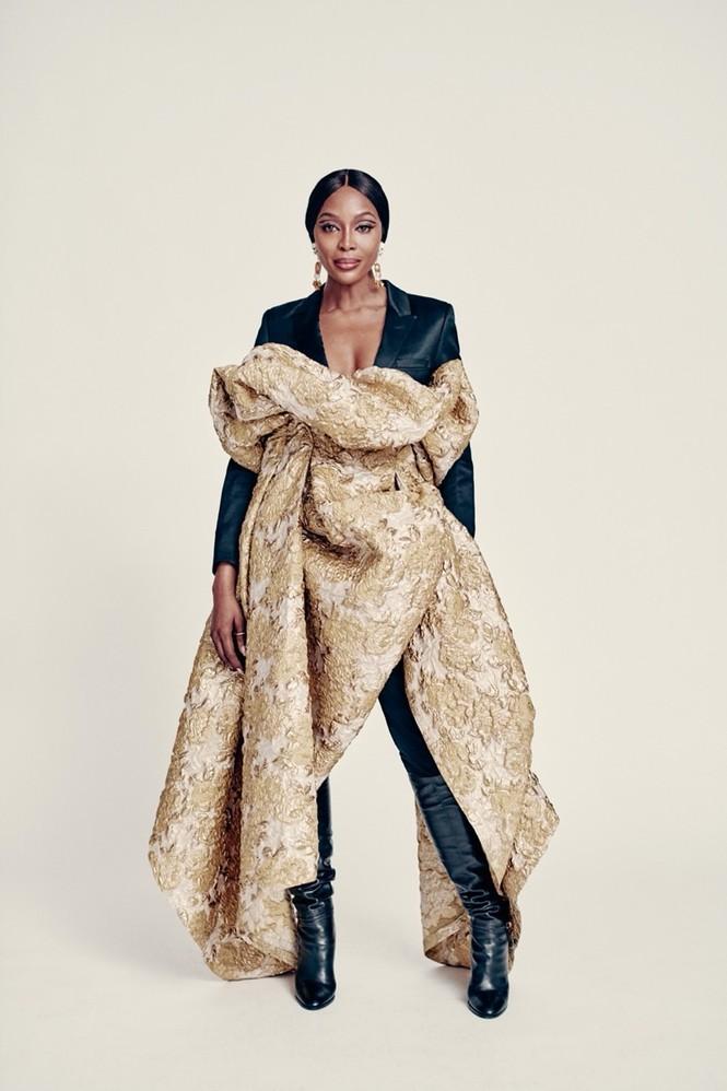 Mê mẩn sắc vóc tuyệt mỹ của siêu mẫu huyền thoại Naomi Campbell  - ảnh 9