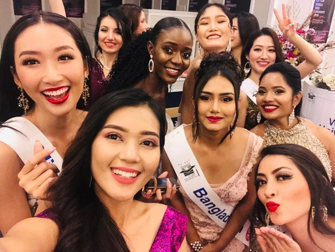 Người đẹp Thanh Khoa đăng quang ngôi vị Hoa hậu Sinh viên thế giới 2019 - ảnh 4