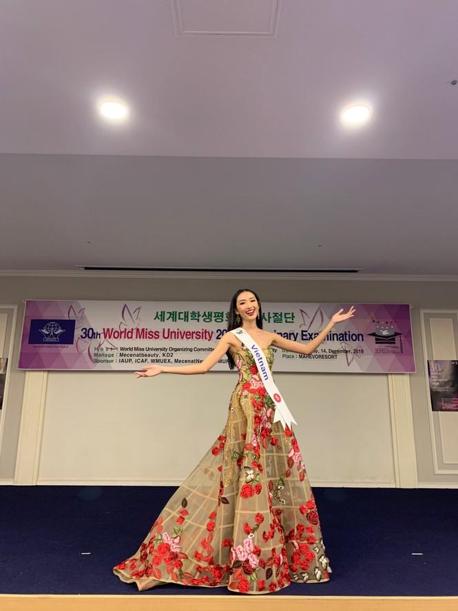 Người đẹp Thanh Khoa đăng quang ngôi vị Hoa hậu Sinh viên thế giới 2019 - ảnh 3