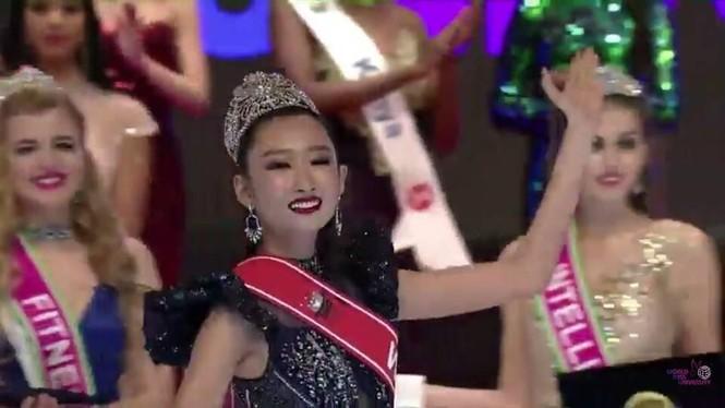 Người đẹp Thanh Khoa đăng quang ngôi vị Hoa hậu Sinh viên thế giới 2019 - ảnh 5