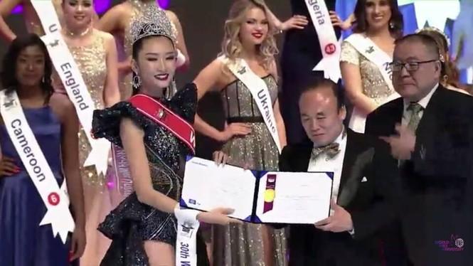 Người đẹp Thanh Khoa đăng quang ngôi vị Hoa hậu Sinh viên thế giới 2019 - ảnh 6