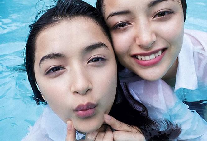 Cặp chị em lai Romani Nhật Bản xinh đẹp như thiên thần - ảnh 4