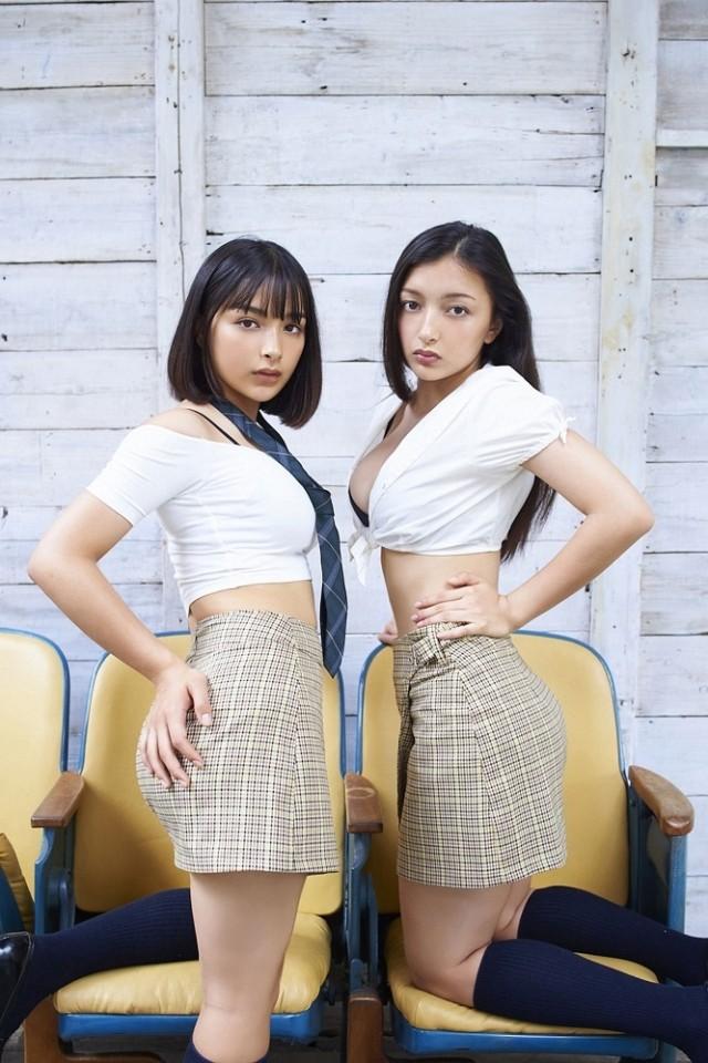 Cặp chị em lai Romani Nhật Bản xinh đẹp như thiên thần - ảnh 5